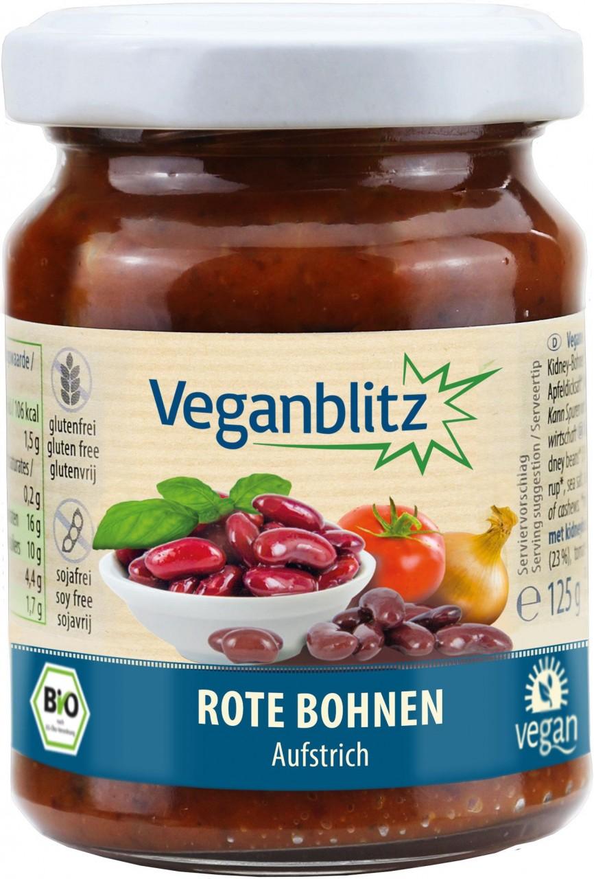 Veganblitz Rote Bohnen Bio-Aufstrich